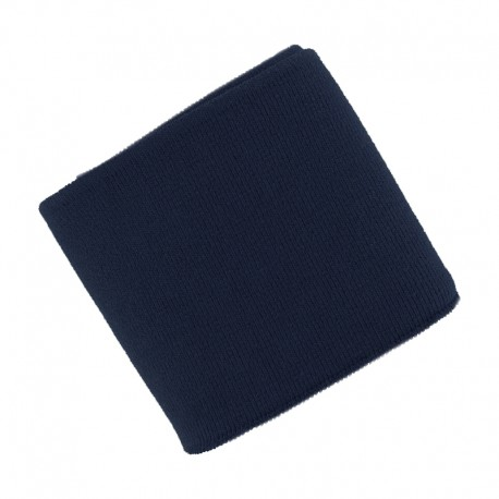 Poppy Plain Edging Fabric (135x7cm) - Navy