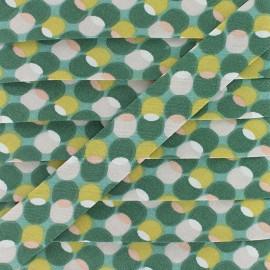 Biais Coton Pozzi 20 mm - Aloevera x 1m