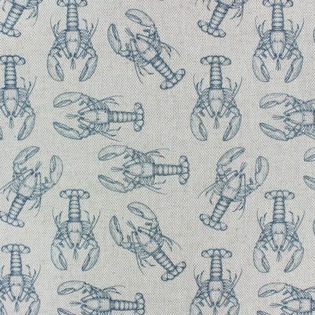 Polycotton fabric - Natural Salmon & co x 10cm