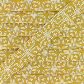 Biais Coton Wata 20 mm - Moutarde x 1m