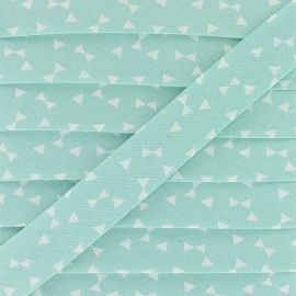 20 mm Cotton Bias Binding - Mint Yozid x 1m