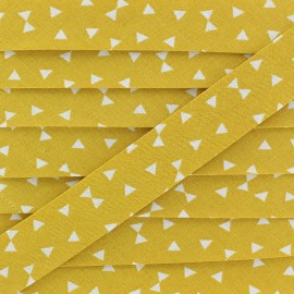 20 mm Cotton Bias Binding - Mustard Yozid x 1m