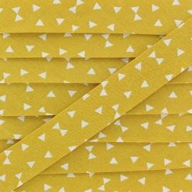 Biais Coton Yozid 20 mm - Moutarde x 1m