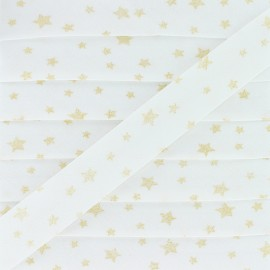 20 mm Cotton Bias Binding - Gold Dousnui x 1m