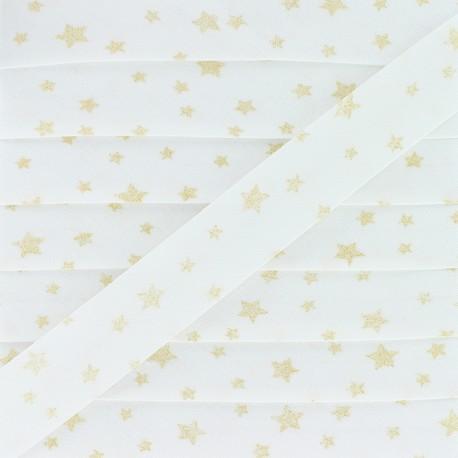 20 mm Cotton Bias Binding - Gold Dousnui x 1m