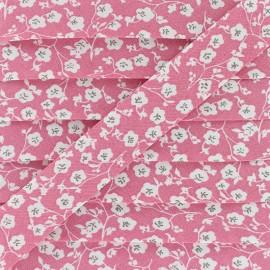 Biais Coton Imelda 20 mm - Rose x 1m