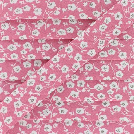 20 mm Cotton Bias Binding - Pink Imelda x 1m
