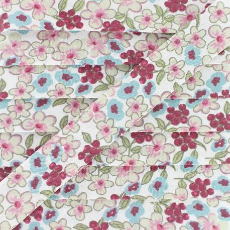 20 mm Cotton Bias Binding - Pink Lilas x 1m