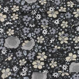 Biais Coton Anisley 20 mm - Noir x 1m