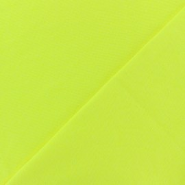 Tubular Jersey fabric - neon yellow x 10cm