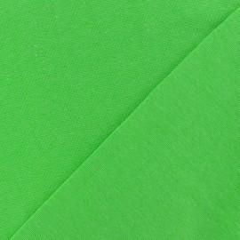 Tissu Jersey tubulaire - vert fluo x 10cm