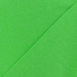 Tubular Jersey fabric - neon green x 10cm