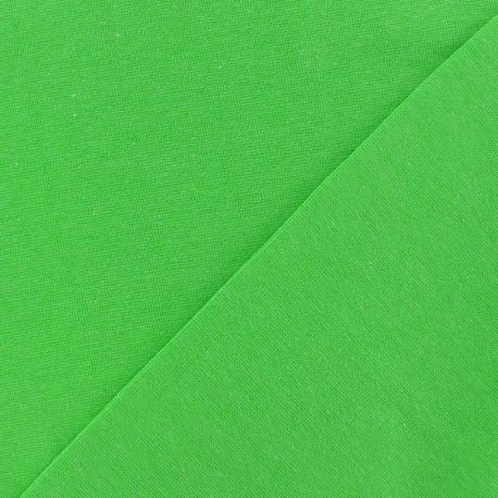 Tubular Jersey fabric - neon green x 10cm