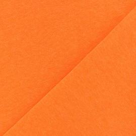 Tissu Jersey tubulaire - orange fluo x 10cm