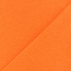 Tubular Jersey fabric - neon orange x 10cm