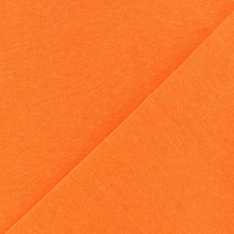 Tubular Jersey fabric - neon orange x 10cm