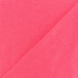 Tubular Jersey fabric - neon pink x 10cm