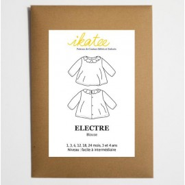 Blouse Sewing pattern - Ikatee Electre