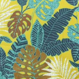 Tissu velours ras Janeiro - Safran x10cm