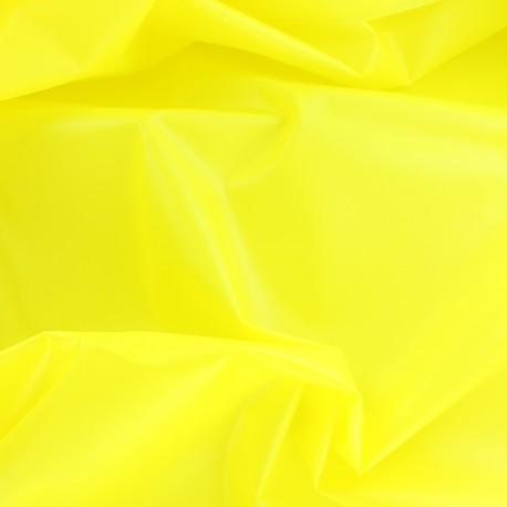 Tissu spécial ciré transparent Rainy - citron x 10cm
