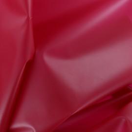 Tissu spécial ciré transparent Rainy - orange x 10cm