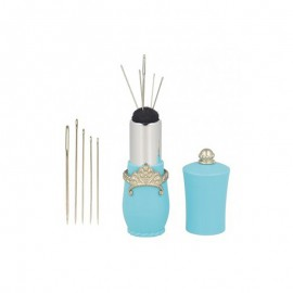 Lipstick Needle Case Holder - Turquoise