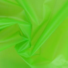 Tissu spécial ciré transparent Rainy - pomme x 10cm