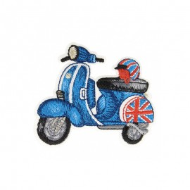 Lovely Motor Iron-On Patch - Scooter