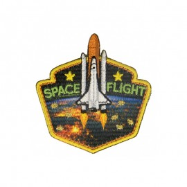 ExSpace Iron-On Patch - Space Flight