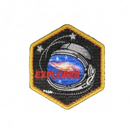ExSpace Iron-On Patch - Explorer