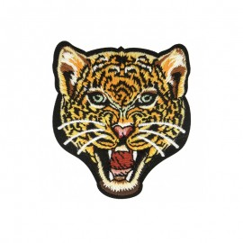 Incredibly Feline Iron-On Patch - Leopard
