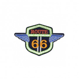 Adventure Iron-On Patch - Route 66