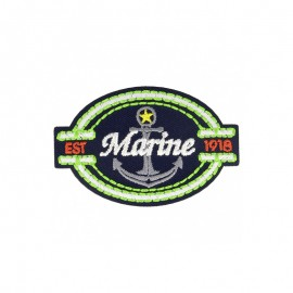Adventure Iron-On Patch - Marine 1918