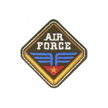 Vinty Badass Iron-On Patch - Air Force