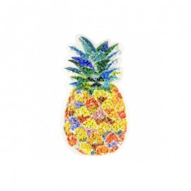 Psychedelik Iron-On Patch - Pineapple