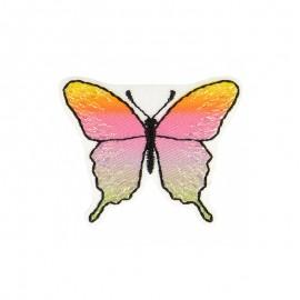 Thermocollant Papillon Irisé - A