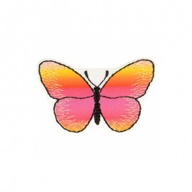 Iridescent Butterfly Iron-On Patch - B