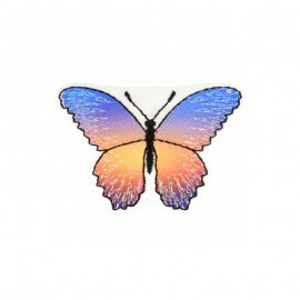 Iridescent Butterfly Iron-On Patch - E