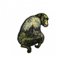Animagic Iron-On Patch - Monkey