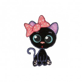 The Catmangas Iron-On Patch - Rosy