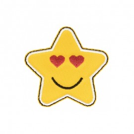 Thermocollant Smiley Star - B