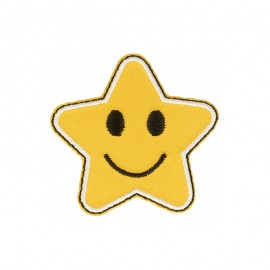 Thermocollant Smiley Star - C
