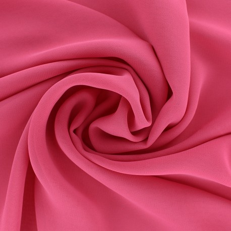 Crepe Muslin Fabric - plum purple x 50cm