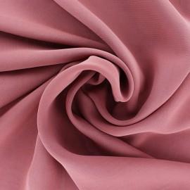 Tissu mousseline crêpe - vieux rose x 50cm