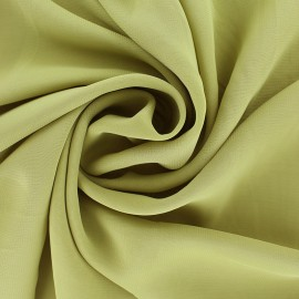 Crepe Muslin Fabric - Olive green x 50cm