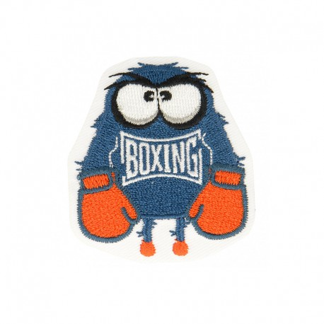 Funny Monsters Iron-On Patch - Boxing