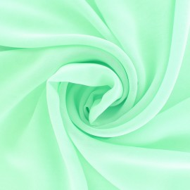 Crepe Muslin Fabric - emerald green x 50cm