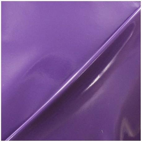 Tissu Vinyl Interlock violet