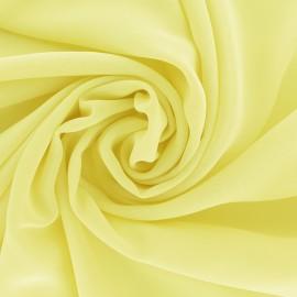 Tissu mousseline crêpe - Vanille x 50cm