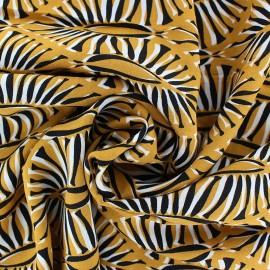 Tissu Viscose Udawalawe - caramel x 10cm